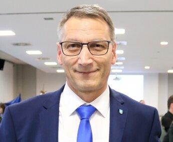 Volker Holuscha beim Lichtmessempfang Anfang des Jahres.