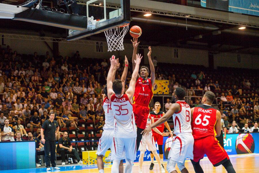U20-EM: Deutsche Basketballer ziehen ins Halbfinale ein