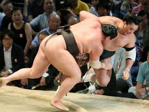Skandal beim Sumo-Ringen