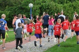 Zwischen 80 und 90 Läufer waren beim Spendenlauf.