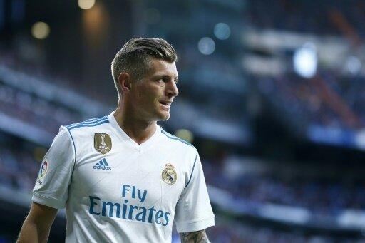 Toni Kroos steht bei Real wieder auf dem Trainingsplatz