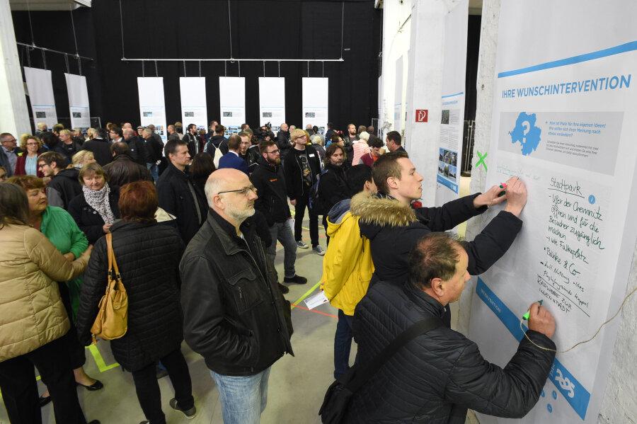 Chemnitzer beraten über Kulturhauptstadt-Projekte