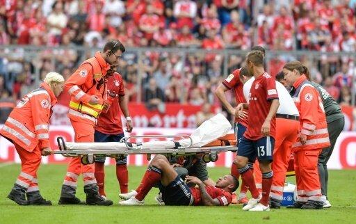 Tolisso verletzt sich beim Spiel gegen Leverkusen schwer