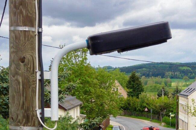 Die Beleuchtung der Staatsstraße 223 in Blumenau wird erneuert.
