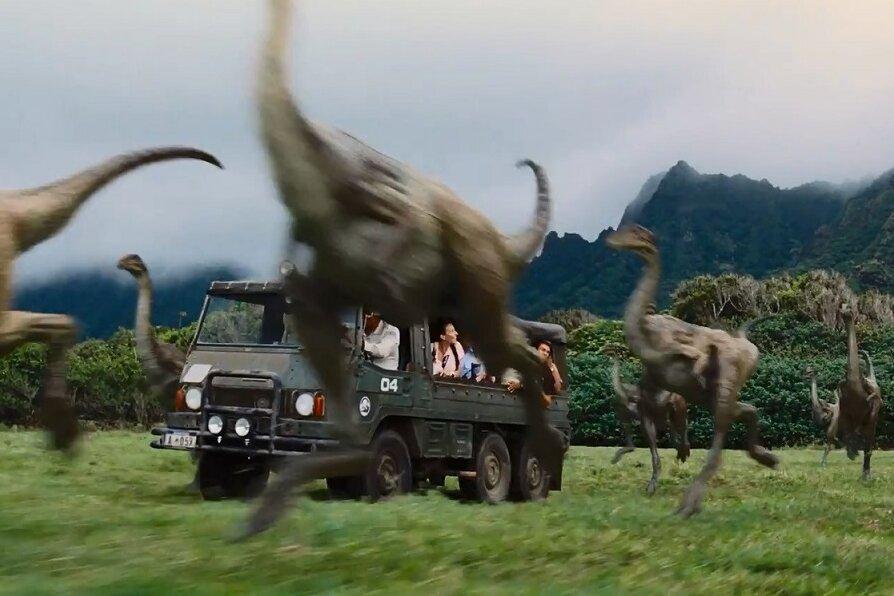 """Der Trailer zu  """"Jurassic World"""" zeigt erste Bilder der Fortsetzung."""