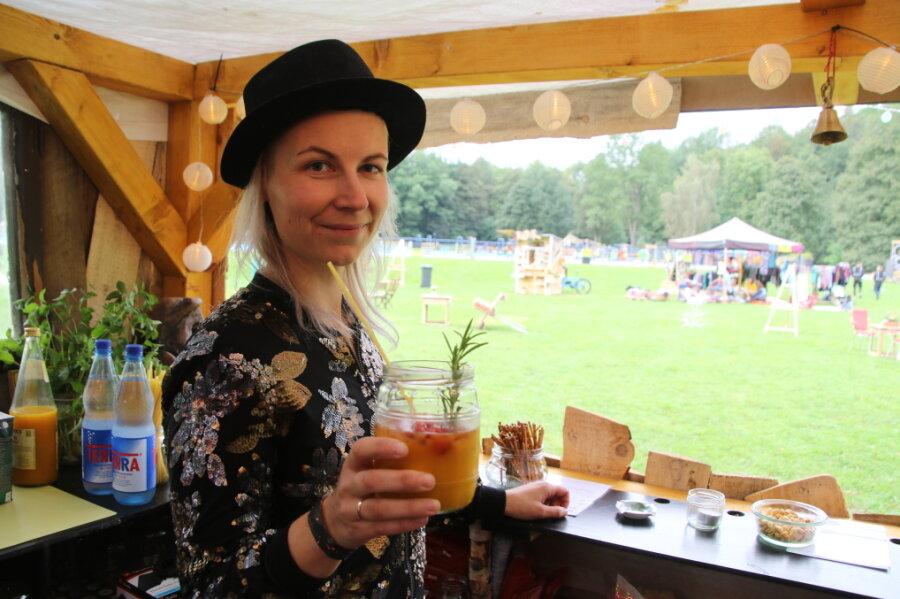 """An der """"Bar der Sinne"""" können Besucher leckere Cocktails trinken."""