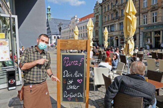 """Das """"Alex"""" in Zwickau - auch hier freut man sich über den Neustart nach coronabedingten Schließung."""