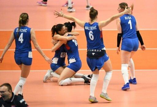 Serbien trifft im Finale auf das Team aus Italien