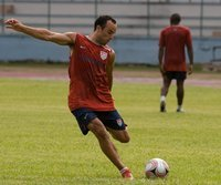 Landon Donovan trainiert beim FC Bayern mit