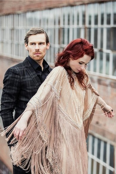 I Want Poetry: Sängerin Tine Schulz und Instrumentalist Moritz Eßinger machen eleganten Weltklasse-Dreampop.