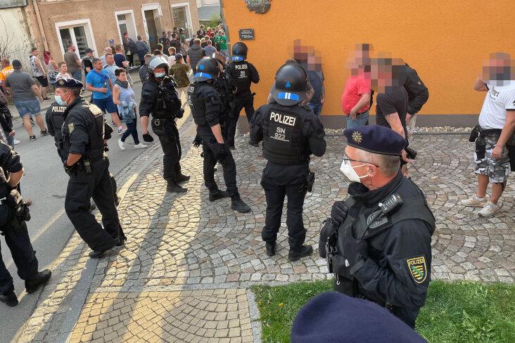 Zwönitz: Für Deeskalation Treffen mit Polizei geplant