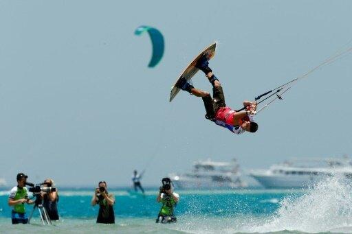 Am Freitag startet der Kitesurf-Weltcup auf Fehmarn