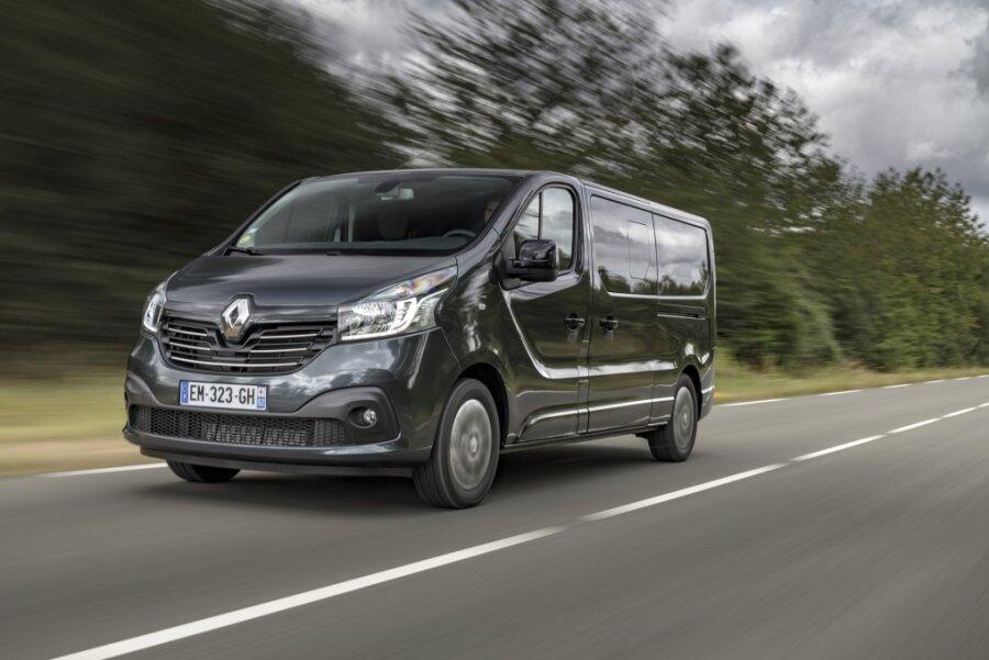 Gleich zwei Renaults Trafic wurden in den vergangenen Tagen in Chemnitz gestohlen.