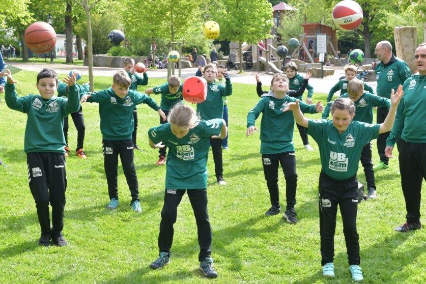 Auch junge Handballer setzen ein Zeichen