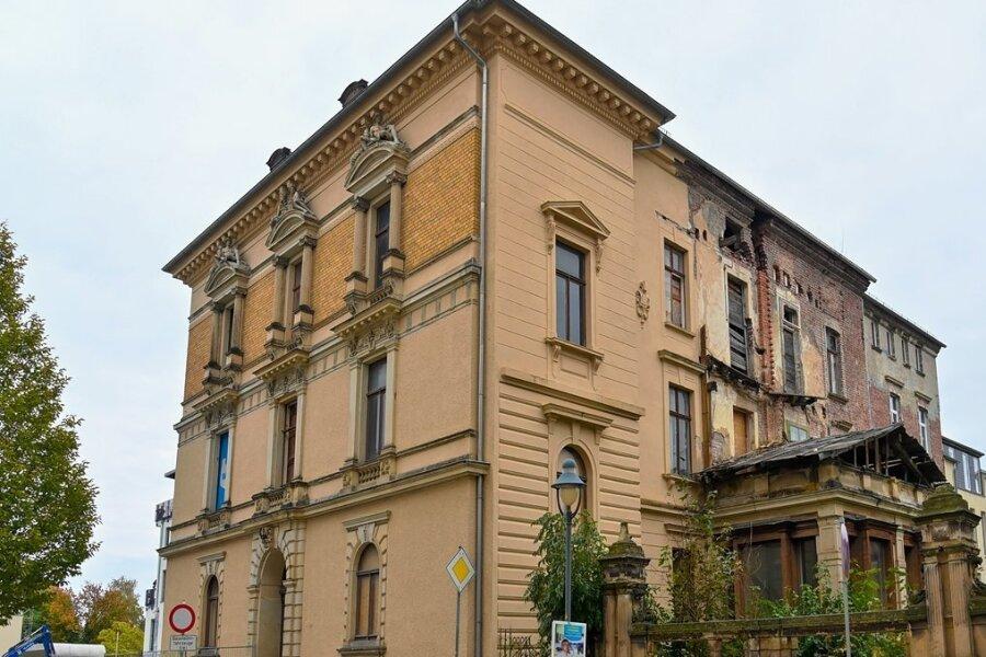 Der Stadtpalast am Reichenbacher Solbrigplatz wurde im vergangenen Jahr zum Ziel eines Einbruchs.