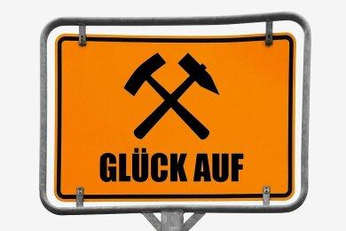 """An der Grundschule in Eibenstock ist das """"Glück auf"""" bald offizieller Gruß."""