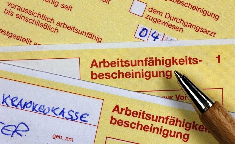 Krankenstand: Westsachsen stemmen sich gegen den Trend