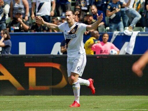 Zlatan Ibrahimovic erzielt das 500. Tor seiner Karriere