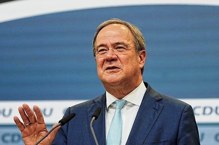 Strebt weiter eine Regierungskoalition mit Grünen und FDP an, wenn es sein muss, auch ohne ihn: CDU-Chef Armin Laschet.