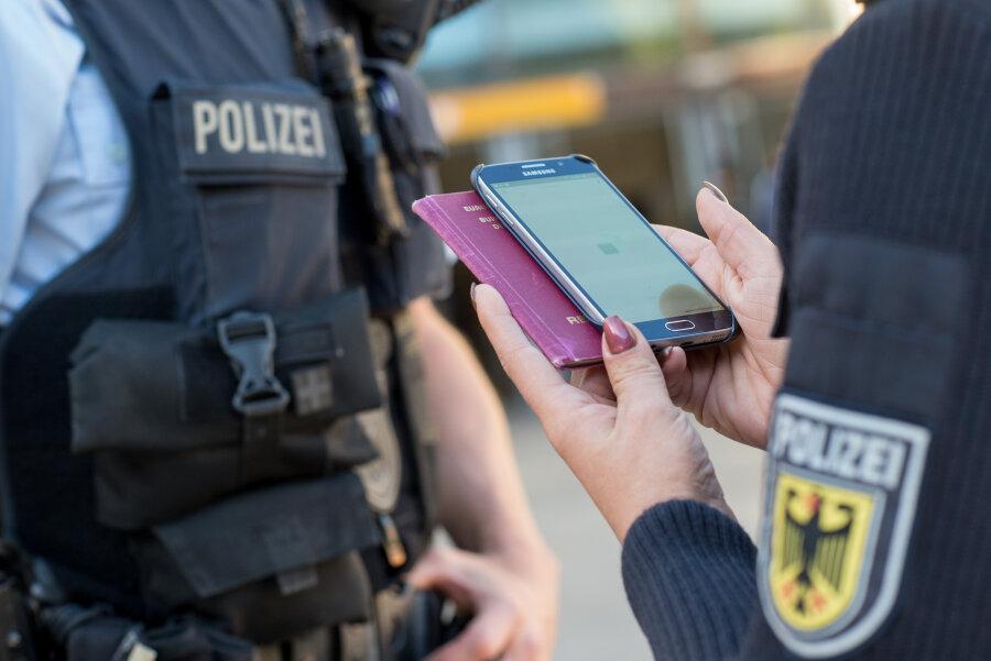 Reitzenhain: Bundespolizei unterbindet illegale Einreise