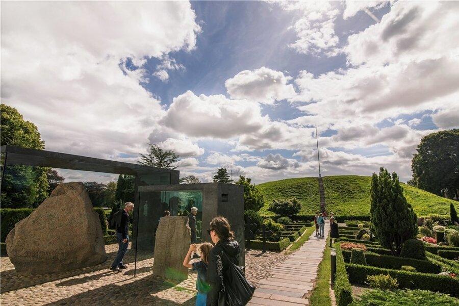 Die Wiege Dänemarks: Kongernes Jelling gehört zum Unesco-Weltkulturerbe.