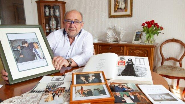 Ein Leben für die Spitze und deren Prinzessin: Bernd Stubenrauch zeigt Dokumente und Bilder.