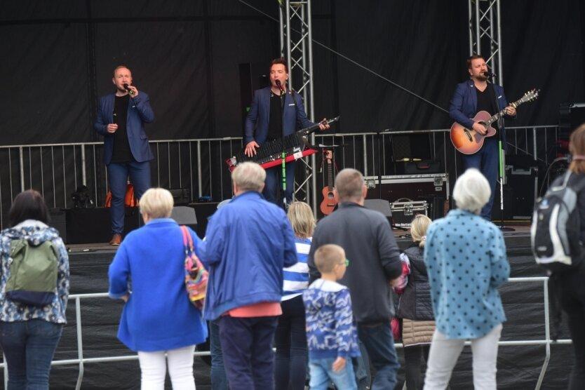 Die Band Die Notendealer aus Freiberg hat 2020 zum Stadtfest gespielt und soll auch dieses Mal das dreitägige Fest am 1. Oktober eröffnen.