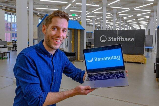 Staffbase-Chef Martin Böhringer holte die kanadische Firma Bananatag ins Boot und will jetzt international stark wachsen.