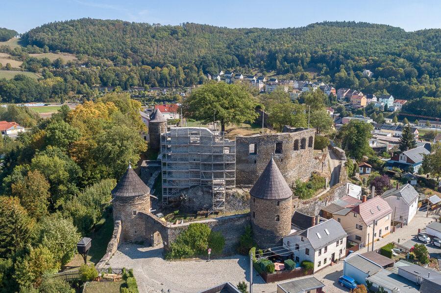 Burgruine Elsterberg bekommt Geld für Sanierung