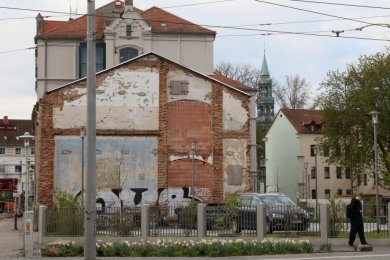 Das Relikt der Puschkinschule gehört dem Heinrich-Braun-Klinikum. Dort arbeitet man an einer Lösung.