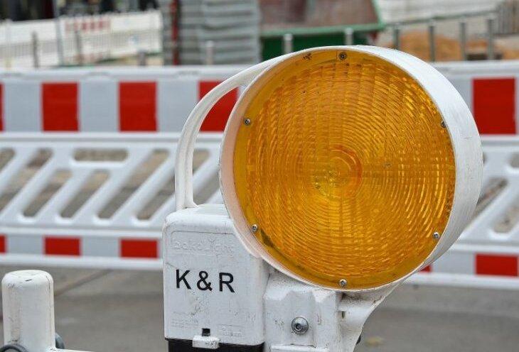 Staatsstraße 288 zwischen Glauchau und Meerane ab 1. April gesperrt