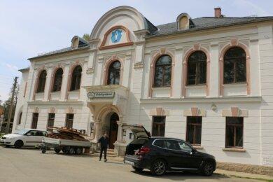 Das Mühltroffer Schützenhaus, Baujahr 1908, zeigt sich in neuem Glanz.