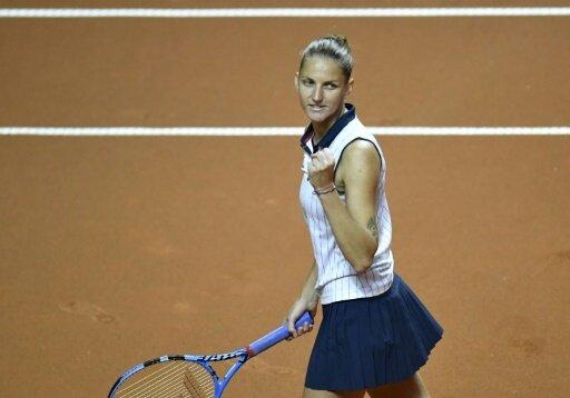 Eine der beiden Finalistinnen: Karolina Pliskova