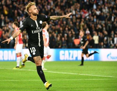 Erzielte im Hinspiel einen Dreierpack: Neymar