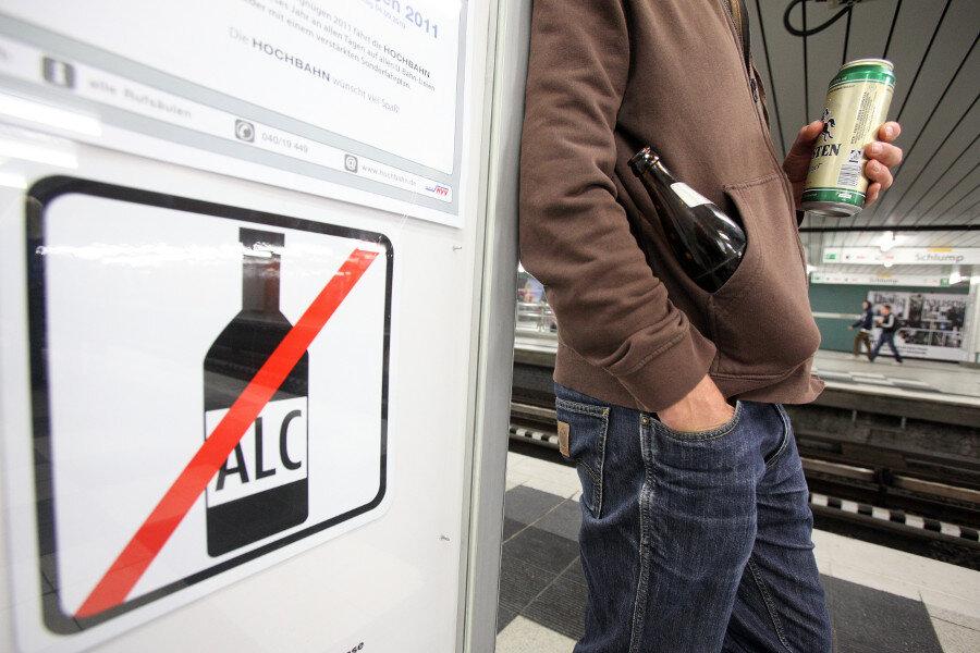 Stadt wertet Alkoholverbot als Erfolg