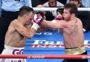 Golowkin (l.) muss sich Alvarez geschlagen geben