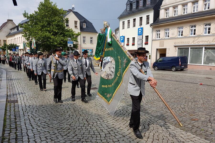 Hainichener Schützengilde feiert 300-jähriges Bestehen