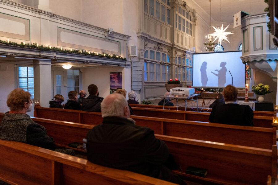 In der Kirche von Milkau war es dieses Jahr eher leer.