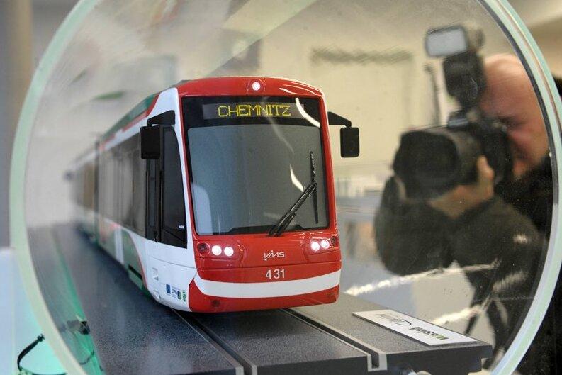 Modelle der neuen Bahnen ausgestellt