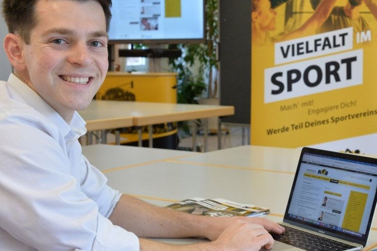 Engagement für junge Sportler: Philipp Hartewig ist seit November 2019 Vorsitzender der Kreissportjugend und hat mit seinen Mitstreitern gerade ein Präventionsschutzkonzept erarbeitet.