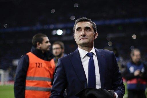 Valverde ist seit 2017 Trainer vom FC Barcelona