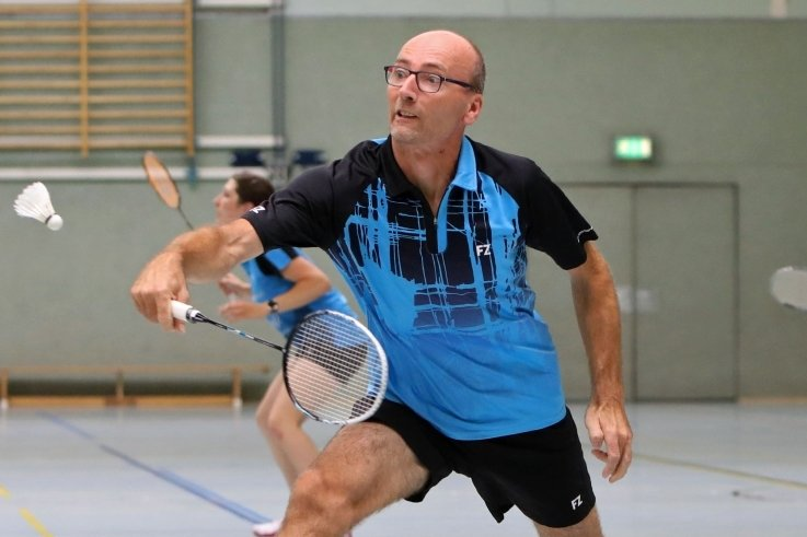 Enrico Wunderlich steht nach mehrjähriger Pause für die SG Meerane 02 wieder als Kapitän am Netz.