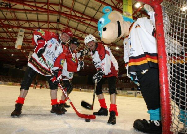 Eishockey U 18 WM in Crimmitschau April 2011
