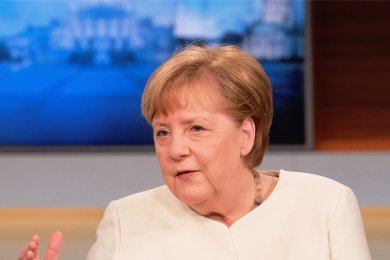 """Bundeskanzlerin Angela Merkel (CDU) redete am Sonntagabend in der ARD-Talksendung """"Anne Will"""" Klartext."""