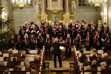 Das 20. Weihnachtskonzert des Frauenchores Reichenbach in der Peter-Paul-Kirche erlebten im Vorjahr mehr als 500 Besucher.