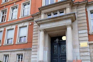 Die Fünftklässler des Goethe-Gymnasiums lernen im Schulteil Friedensschule (Foto). Die Anmeldung erfolgt in der Goetheschule in der Ackermannstraße.