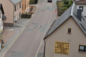 Obere Dorfstraße Rödlitz: Hier ist das Internet besonders langsam.