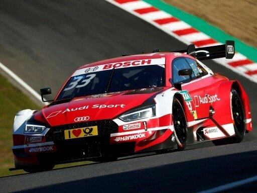 Rene Rast startet am Nürburgring von der Pole-Position
