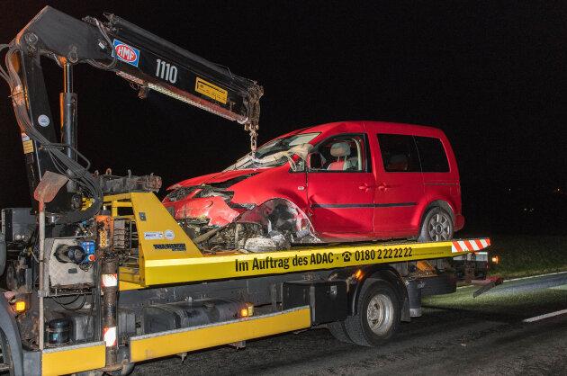 B 175 bei Dittmannsdorf nach Unfall gesperrt
