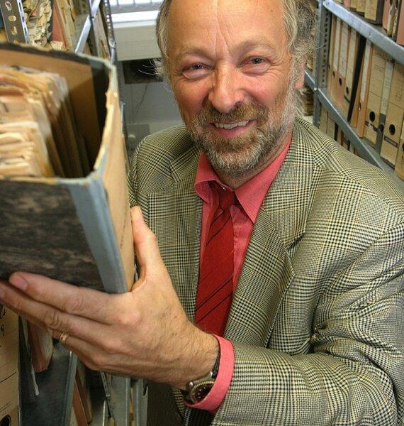 Chef der Chemnitzer Stasibehörde Martin Böttger.